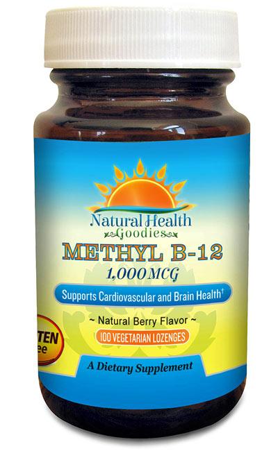 vitamn b12 lozenges from Natural Health Goodies
