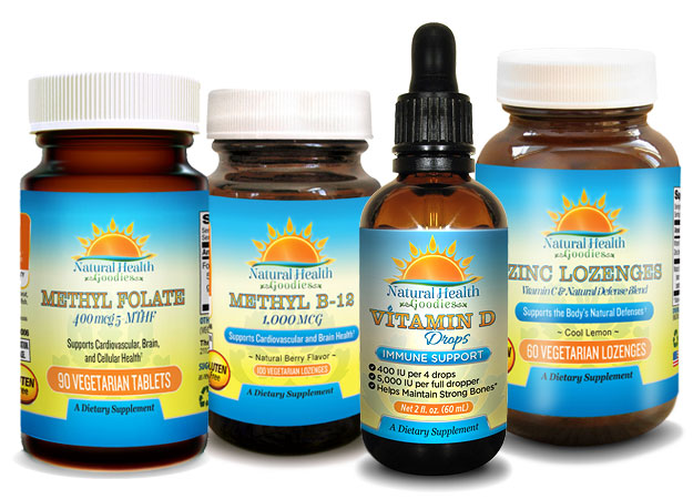 selection of vitamins from NHG