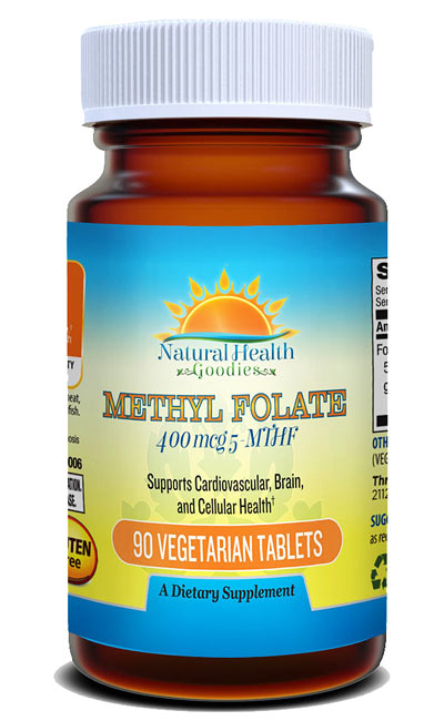 methylfolate from natural health goodies
